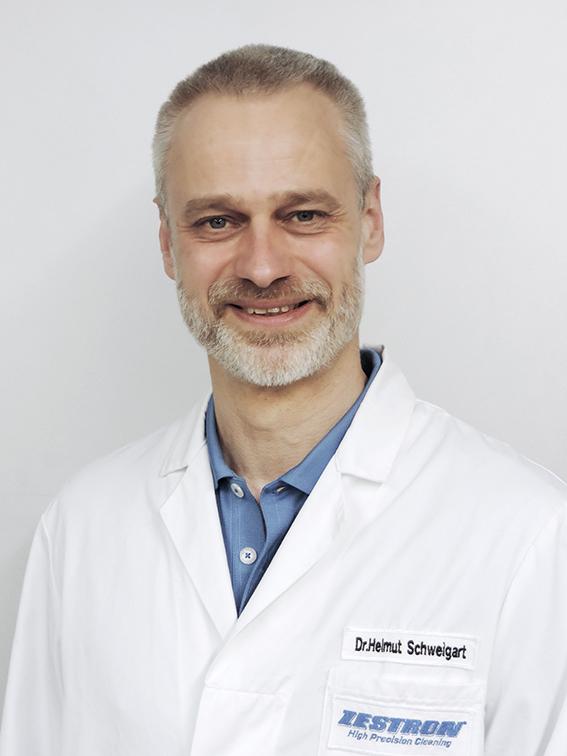 ZESTRON R&S欧洲区负责人Dr. Helmut