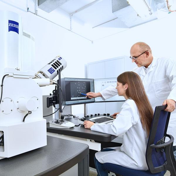 扫描电子显微镜-X射线能谱分析仪